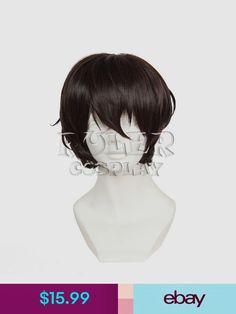 Costume Wigs #ebay #Collectibles Costume Wigs, Anime Costumes, Cosplay Wigs, Dazai Osamu Anime, Wig Cap, Bungou Stray Dogs, Ebay