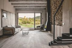 Gorgeous juxtaposition. Renovation in Cerdanya, Spain by dom arquitectura.