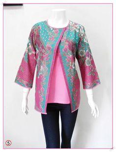 Jual baju batik modern, Blouse Mirna Katun Limited A 05