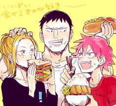 Tadokoro, Aoyagi, and Naruko Yowamushi No Pedal, Sword Art Online Kirito, Online Art, Manga, Anime, Cute, Mango, Manga Anime, Manga Comics