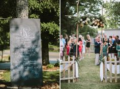 Garland ideas. Hand lettering chalkboard art. Leiper's Fork Tennessee. Twelve at the Table. Farmhouse in the Fork. Inn at Leiper's Fork. Franklin wedding venues. Fun and unique wedding photos. Nashville wedding photography. Creative couples photos. Small intimate wedding. Love. Outdoor wedding. Farm to table. Farm wedding. Q Avenue Photo.