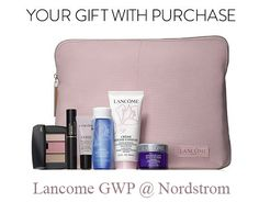Lancome GWP at Nordstrom when you spend $39.50 or more. Online only. No promo code required.