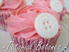 Cupcakes de Chicle, Tutorial botones de Fondant