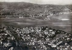 Pays Basque 1900: Vues aériennes de Biarritz à St Palais