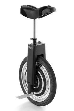 El monociclo que le lleva al trabajo - Fuera de Serie
