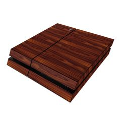 Sony PS4 Skin - Dark Rosewood by DecalGirl Collective | DecalGirl