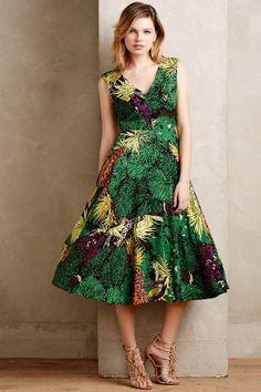 rainforest dress #anthrofave
