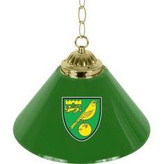Premier League Newcastle United Single Shade Brass Bar Lamp