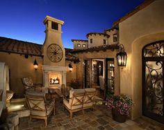 DC Ranch - mediterranean - patio - phoenix - by Sanctuaries Interior Design