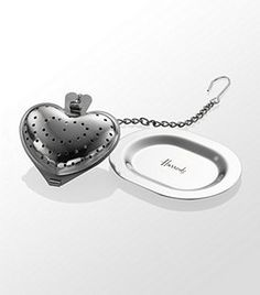 Heart Tea Infuser with Tray  Now: £3.45 Good gift idea for Grandma!