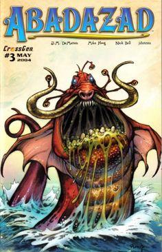 Abadazad #3 Cover - Ploog