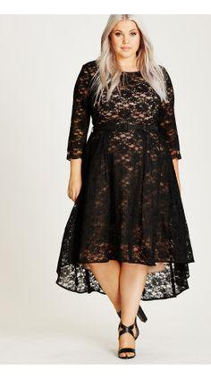 Shop Women's Plus Size Lace Lover Dress | City Chic USA