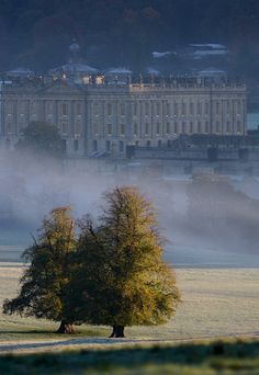 Morning River Mist ,Chatsworth by Johnnic1 on Flickr.