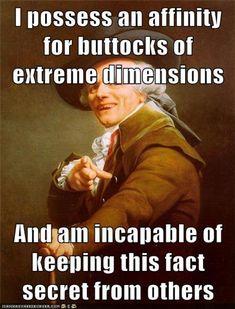 See more 'Joseph Ducreux / Archaic Rap' images on Know Your Meme!