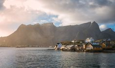 After new years break of posting, I want to start off again with a picture from sakrisøy on Lofoten in the little end autumn sunrays. Lofoten, Things I Want, Travel Photography, Autumn, Explore, Mountains, Landscape, Building, Pictures