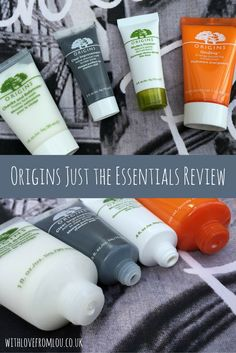Origins skincare review - Just the Essentials 4 Piece Set. Find out what I thought of them by clicking here: http://withlovefromlou.co.uk/2015/08/origins-essentials/ #skincare #beauty