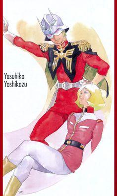 シャアとセイラ  安彦良和 Gundam Wing, Gundam Art, Old Anime, Manga Anime, ガンダム The Origin, Zeta Gundam, Manga Artist, Funny Tattoos, Neon Genesis Evangelion