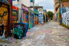 Clarion Alley, Mission District, San Francisco, CA... one of the most colorful places I've ever been!