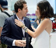 Cohen and Leandra both charming as always!