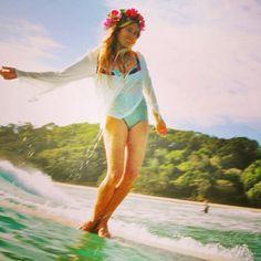SurfLauren Hill-Billabong Rashes In Children, Surf Hair, Beach Music, Girls Twitter, Surfer Girl Style, 2 Piece Swimsuits, Tumblr, Bikini, Bondi Beach