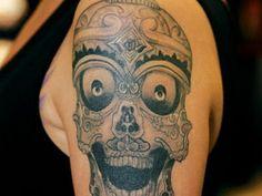 50 Skull Tattoo Designs for Men