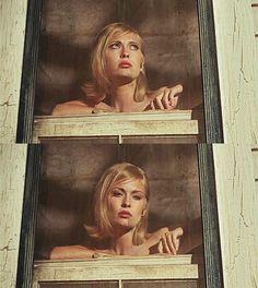 Faye Dunaway in Bonnie Clyde, 1967