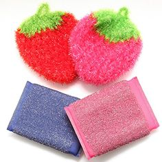 High Cleaner Scouring Sponges Dish Scrubber for Dish washing Cloth