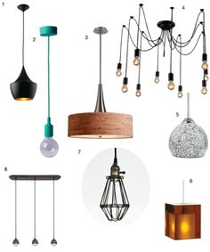 Pretty Pendants for Every Pad (Apartment Therapy Main) Apartment Living, Apartment Therapy, Home Lighting Design, Interior Decorating, Interior Design, Living In New York, Light Of My Life, Mid Century House, Home Renovation