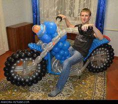 Awesome Balloon Bike