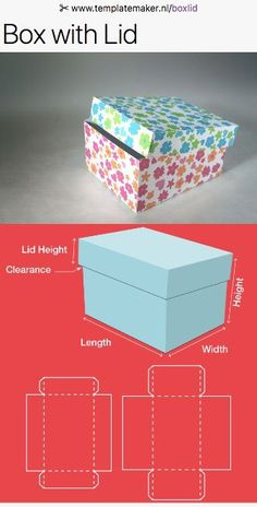 Free custom size Box with lid-templates!nl/boxlid Free custom size Box with lid-templates!nl/boxlid The post Free custom size Box with lid-templates!nl/boxlid appeared first on Paper Diy. Box Templates Printable Free, Diy Gift Box Template, Paper Box Template, Diy Instagram, Origami Box With Lid, Origami Boxes, Gift Boxes With Lids, Papier Diy, Box Patterns