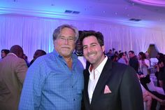 Micky Arison CEO of Carnival and Owner of the Miami Heat with Evan Golden at Battioke