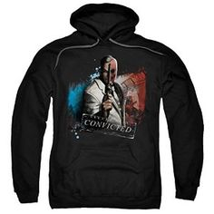Batman Arkham City Two Face Pull Over Hoodie