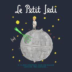 LE PETIT JEDI (VERSION 2) T-Shirt $12 Star Wars tee at Weekly Shirts!