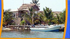 Off The Wall Dive Center Island Resort, Long Caye, Glover's Reef Atoll, Belize. Dive, snorkel and fish in paradise!