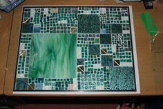 stained glass mosaic; going to be a light box nancie35us