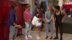 Zack, Kelly, A.C. and Jessie - plus Mr. Belding - return to old stomping ground in pitch-perfect reenactment of Saturday morning TV show