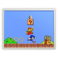 A #Bitcoin Operation Ring: Shouldn't #Sonic owe #Mario #royalties? - he bit #coins off of him! #STEELYourMind #InkWellSpoken #Bitcoins #SuperMario #SuperMarioBros #SonicTheHedgehog #RandomGoofiness
