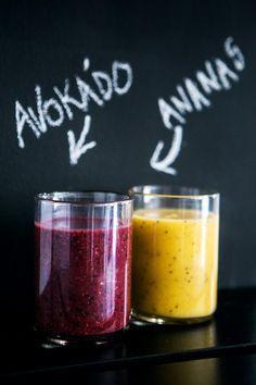 Barevná smoothie nejen krásně vypadají, ale také jsou opravdu nabitá vitaminy, antioxidanty a dalšími důležitými živinami; Jakub Jurdič