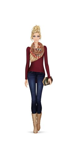 Fashion Game...I'm wearing a version of this tomorrow to work..If it's still cold!