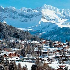 Reserve skiing vacation accommodation in Villars Switzerland on Diablerets glacier. Villars-sur-Ollon tourist info and transportation to book your hotel accommodation or ski holiday trip. Winterthur, Zermatt, Holiday Places, Holiday Destinations, Places To Travel, Places To See, Monaco, Tourist Info, Portugal