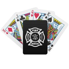 Fire Rescue Poker Cards