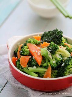Garlic broccoli stir fry