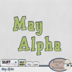 May Bak: Alpha by Designs by Snowlady