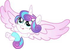 Flurry Heart is a Alicorn Foal. She is a Princess Cadence and Shining Armor's daughter, Night Light and Twilight Velvet's granddaughter, and Twilight Sparkle's niece. She voiced by Tabitha St. Germain. Counterparts Baby Poof (The Fairly Oddparents), Kate Read (Arthur), Maggie Simpson (The Simpsons), Cream the Rabbit (Sonic the Hedgehog), Ribbon (Kirby), Kimi Finster (Rugrats), Dot (Dog City), Melissa (Phineas and Ferb), Ducky or Tricia (The Land Before Time), Abby Cadabby (Sesame Street...