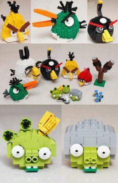 Yepa! Angry Birds versión Lego