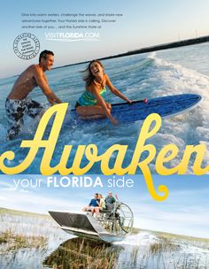 Award winning Visit Florida brand campaign.
