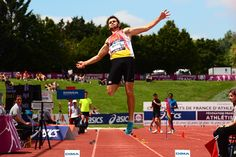 #CFathlé #Angers L'épreuve combinée du décathlon a ouvert ces championnats élite, le vendredi après-midi. (Photo: Matthieu Tourault/Ville d'Angers)