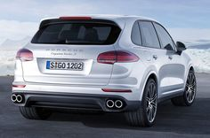 New Review Porsche Cayenne Turbo S 2016 Release Rear View Model