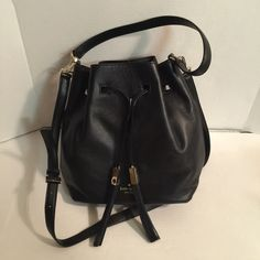 Kate spade black grey street delaina shoulder bag Brand new with tag, no dust bag Retail price was $ 355.00 +Tax Size :  10 '' L 10 .5'' H // 6 '' D Leather  Adjustable Strap One zip pocket inside 100 % Authentic kate spade Bags Shoulder Bags