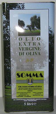 OLIO EXTRAVERGINE D'OLIVA 12/13 - 20 LITRI - OLIO SOMMA - EXTRA VIRGIN OLIVE OIL
